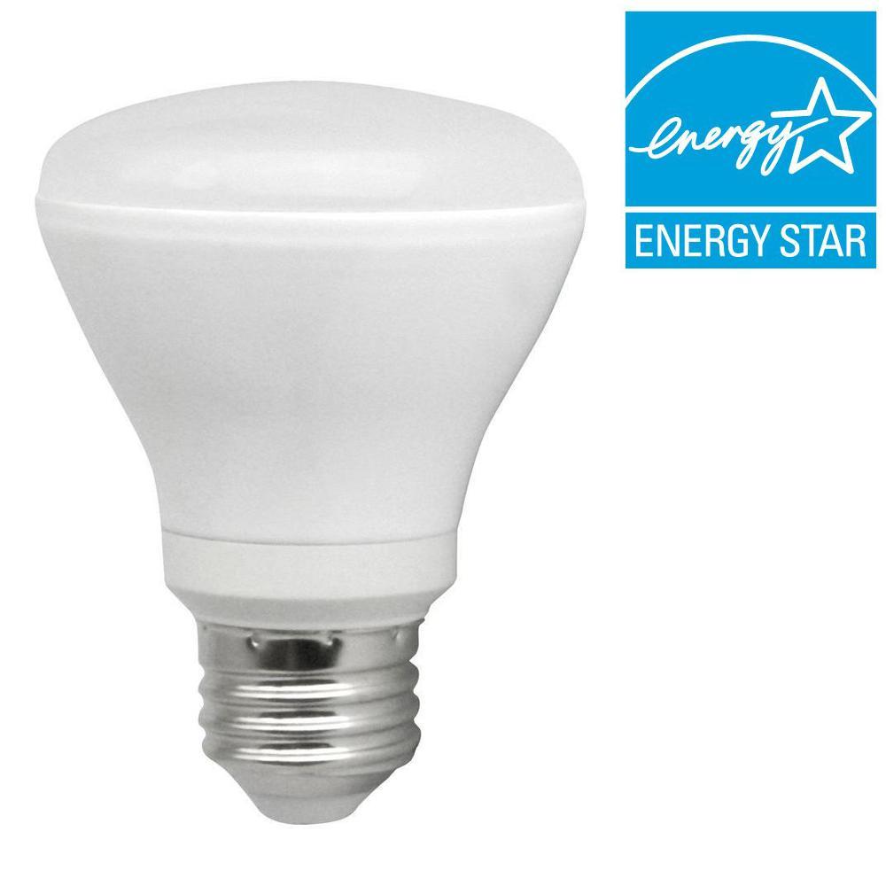 50W Equivalent Soft White (2700K) R20 LED Flood Light Bulb (8-Pack)