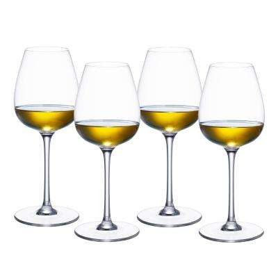 Purismo 13.5 fl. oz. Lead Free Crystal White Wine Glass (4-Pack)