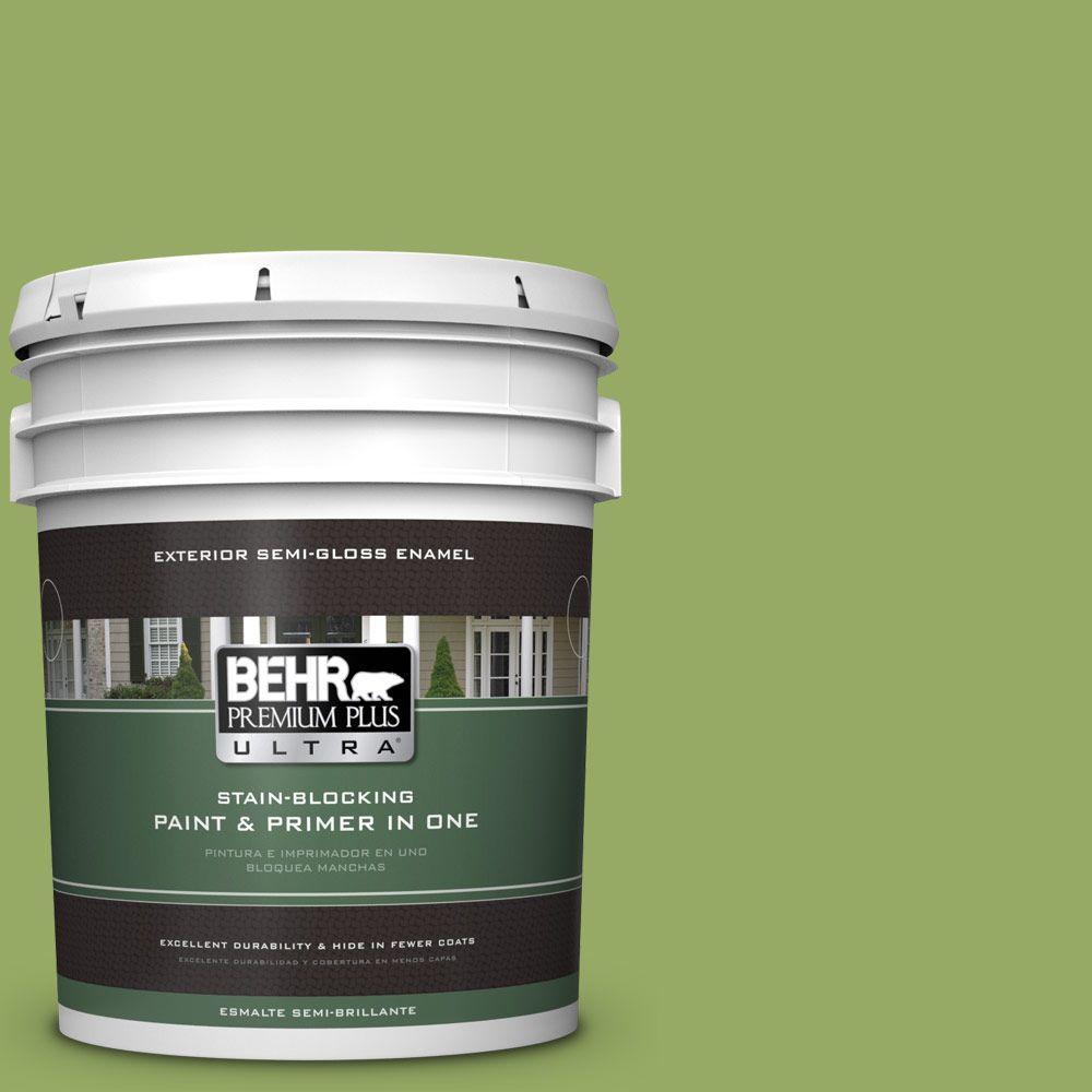5-gal. #420D-5 Herbal Garden Semi-Gloss Enamel Exterior Paint
