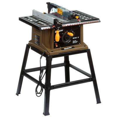 13 Amp 10 in. Table Saw with Leg Stand