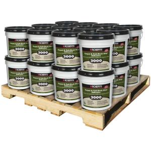 Roberts 4 Gal. Multi-Purpose Carpet and Sheet Vinyl Adhesive (24 Pail Pallet) by Roberts