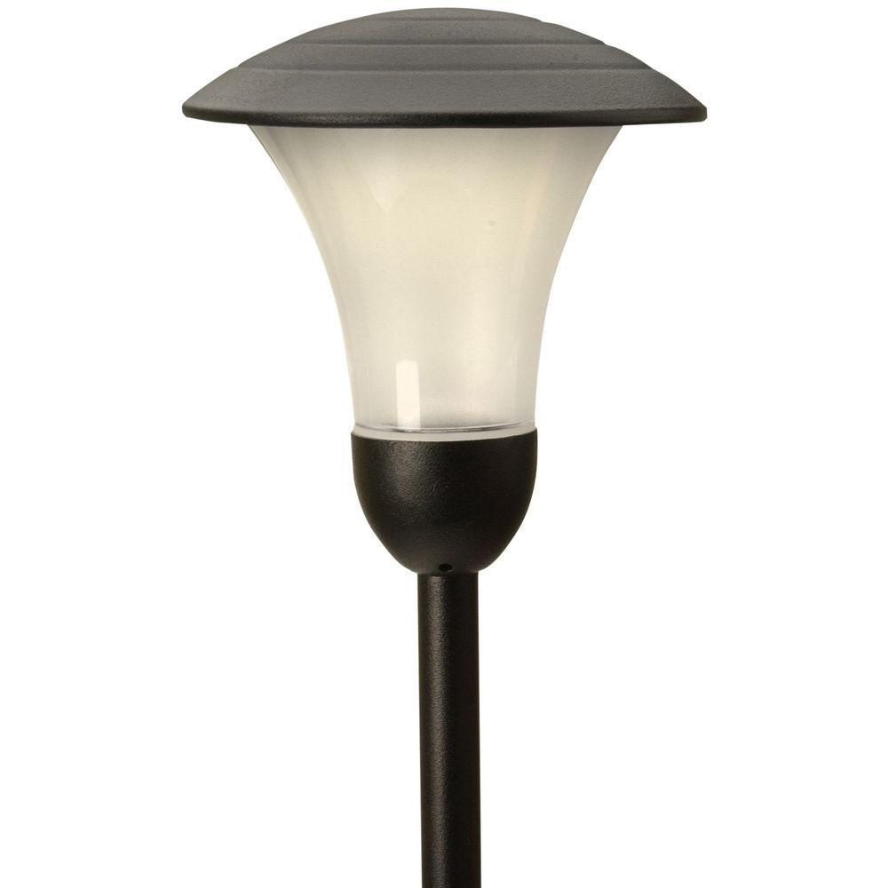 Low-Voltage 1-Watt Addison-Style Black Outdoor LED Metal Path Light