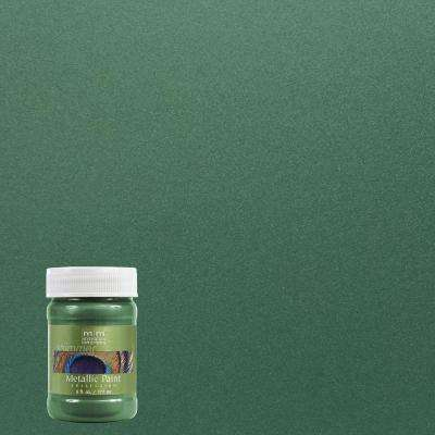 6 oz. Hunter Green Metallic Interior/Exterior Paint