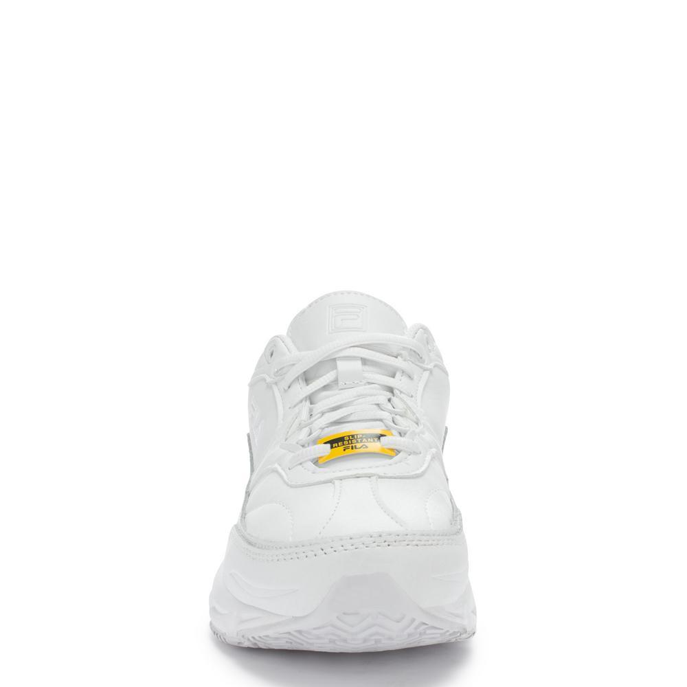 Fila Women's Memory Workshift Slip Resistant Athletic Shoes Soft Toe White Size 11(M)