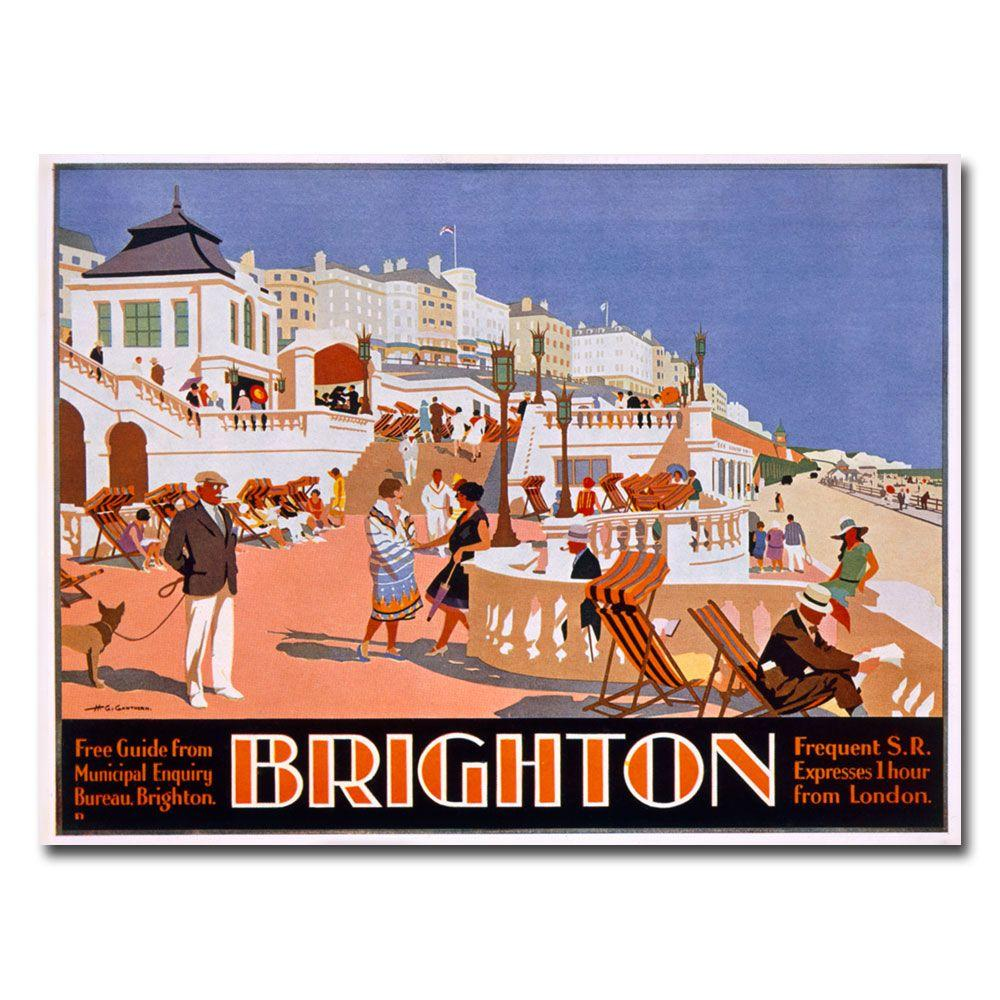 Trademark Fine Art 26 in. x 32 in. Henry Gawthorn Brighton Canvas Art