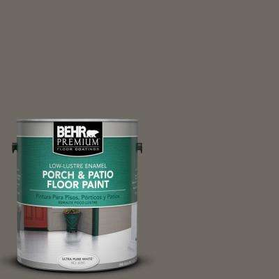 1 gal. #PPU24-04 Burnished Pewter Low-Lustre Porch and Patio Floor Paint