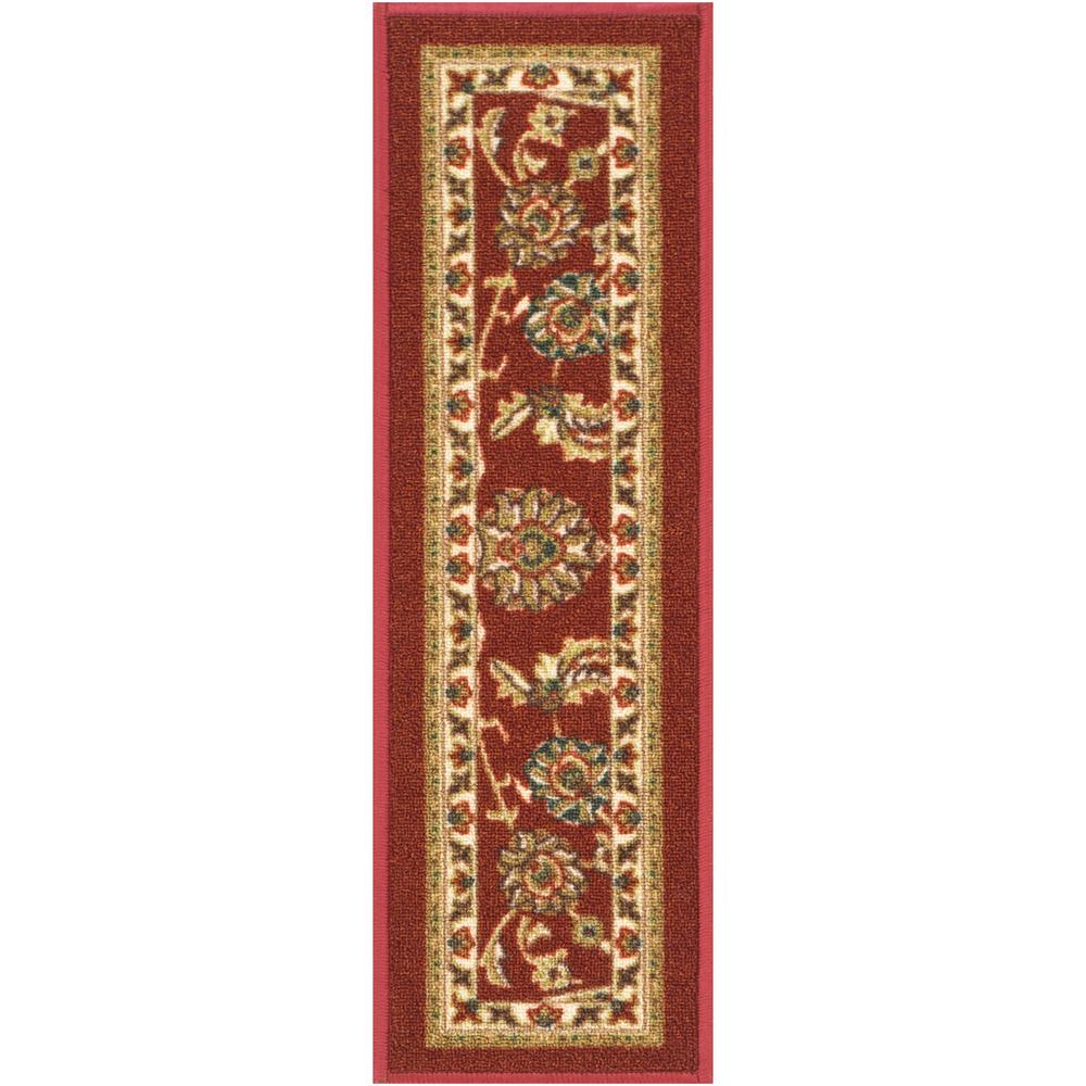Well Woven Kings Court Tabriz Red Traditional Oriental