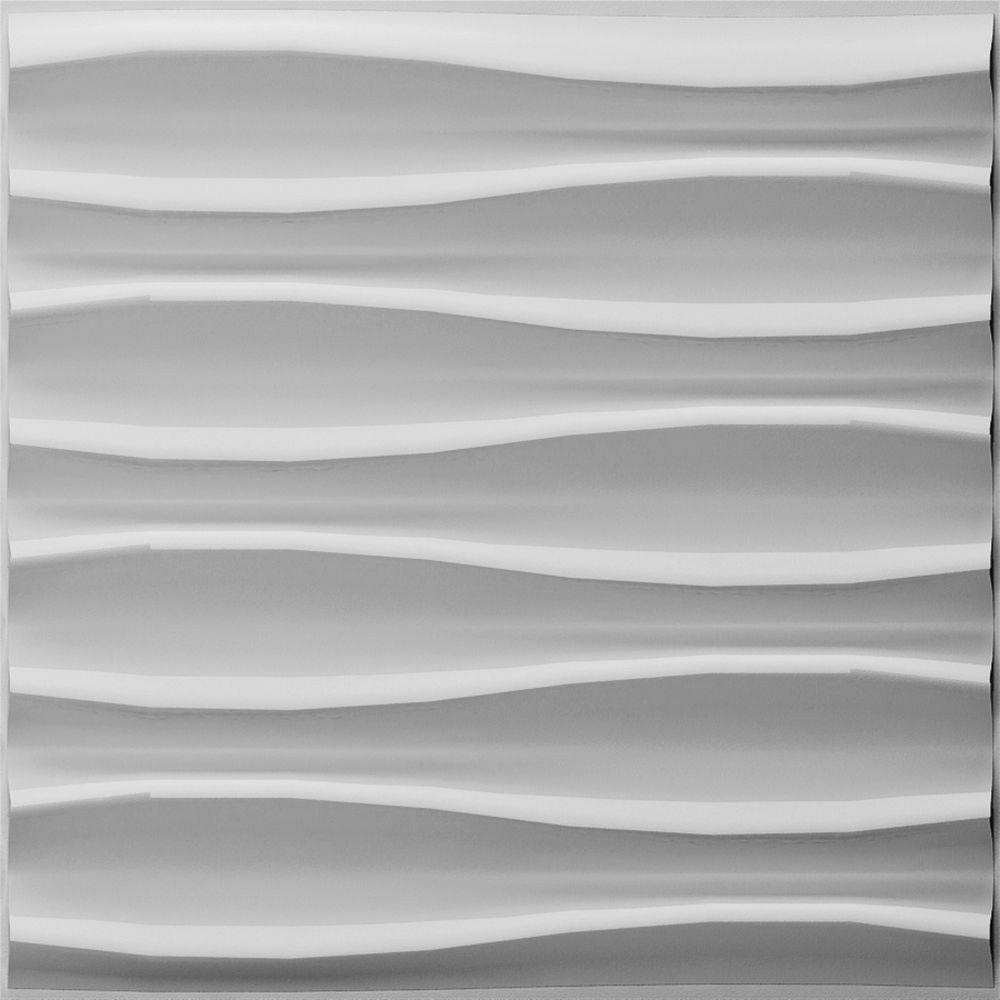 Ejoy Brandy 3D Fiber Wall Paneling (20 in. x 20 in. Per Piece, - Sale: $51.99 USD (13% off)