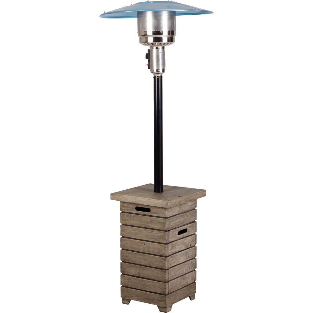 Mirage 38 200 Btu Bronze Heat Focusing Propane Gas Patio Heater Hdmirage10 The Home Depot