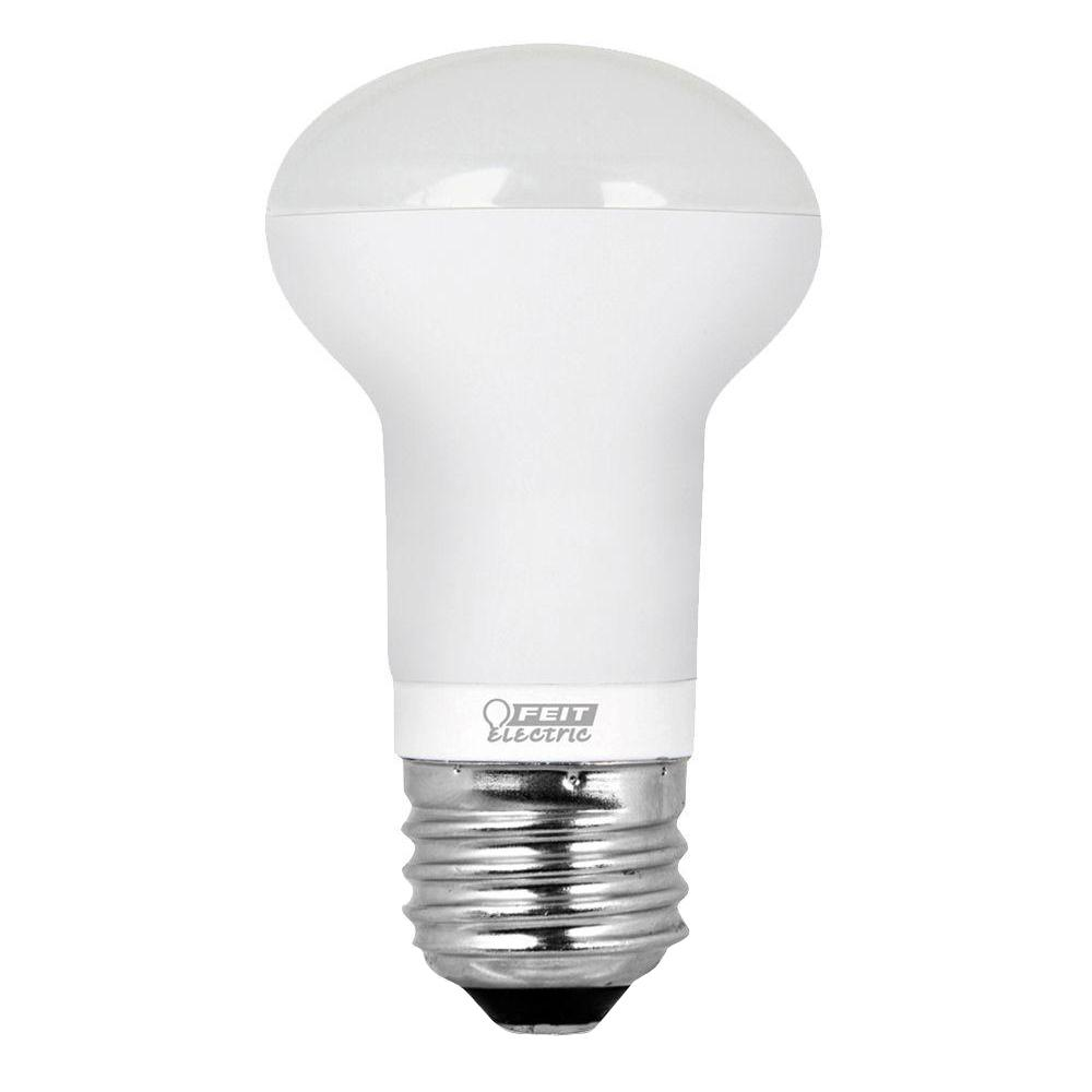 Feit Electric 40w Equivalent Soft White A19 Clear Filament: Feit Electric 40W Equivalent Soft White R16 Dimmable LED
