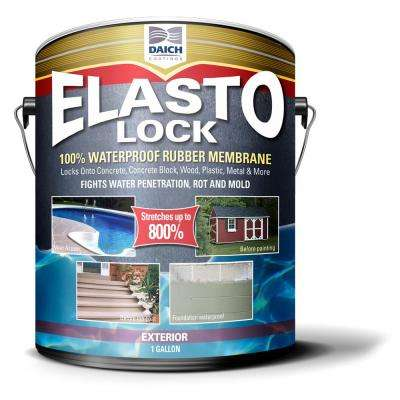 1 Gal. Gray Exterior Damp-Proof Rubber Membrane Coating and Waterproofer