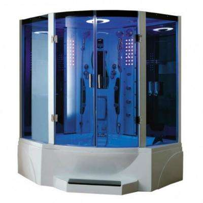 Combination Steam Shower with Jetted Tub