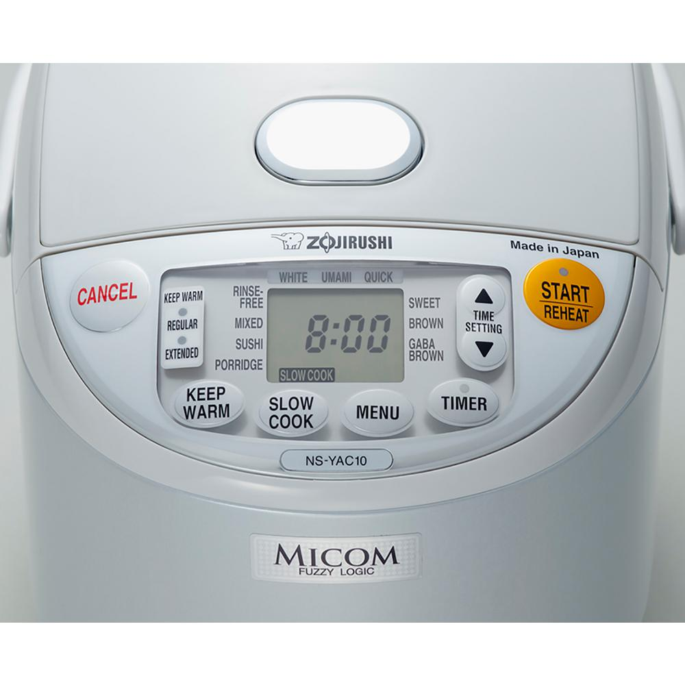 Zojirushi Umami 7-Cup Pearl White Rice Cooker with Non-Stick