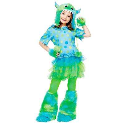 Girls Monster Miss Costume