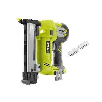 18-Volt ONE+ Lithium-Ion AirStrike 18-Gauge Cordless Narrow Crown Stapler with Sample Staples (Tool-Only)