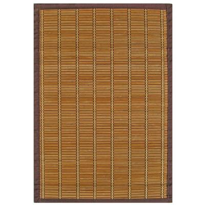 Pearl River Brown and Gold 2 ft. x 3 ft. Area Rug