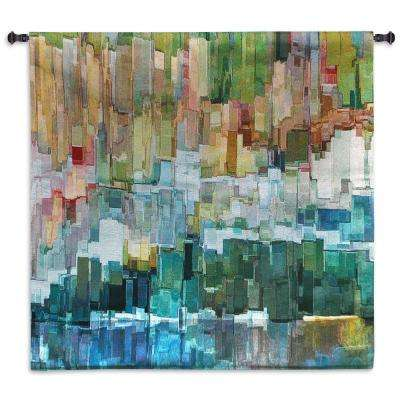 Glacier Bay III Multi Colored Wall Tapestry
