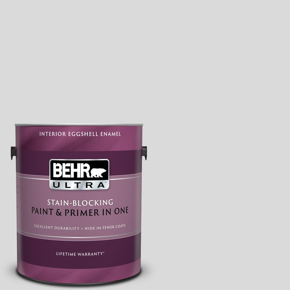 BEHR ULTRA 1 gal  #790E-1 Subtle Touch Eggshell Enamel Interior Paint and  Primer in One