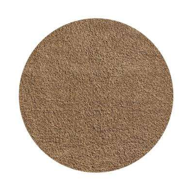Bella Collection Beige 5 ft. x 5 ft. Round Area Rug