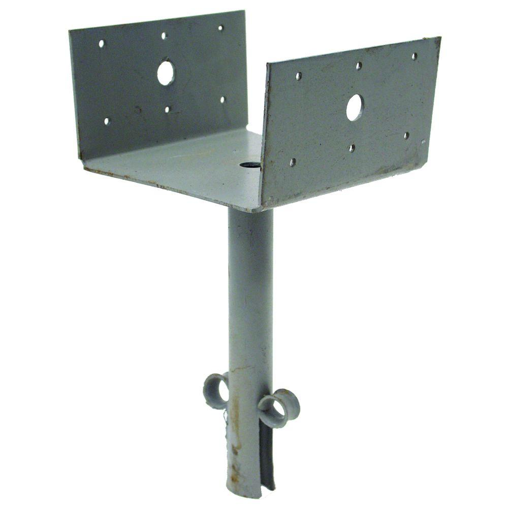 Simpson Strong-Tie 6 in. x 6 in. 12-Gauge Elevated Post Base
