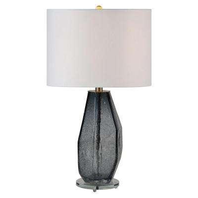 Hadesa 26 in. Gray Table Lamp