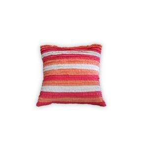 Multicolored Striped Down Alternative 20 in. x 20 in. Throw Pillow