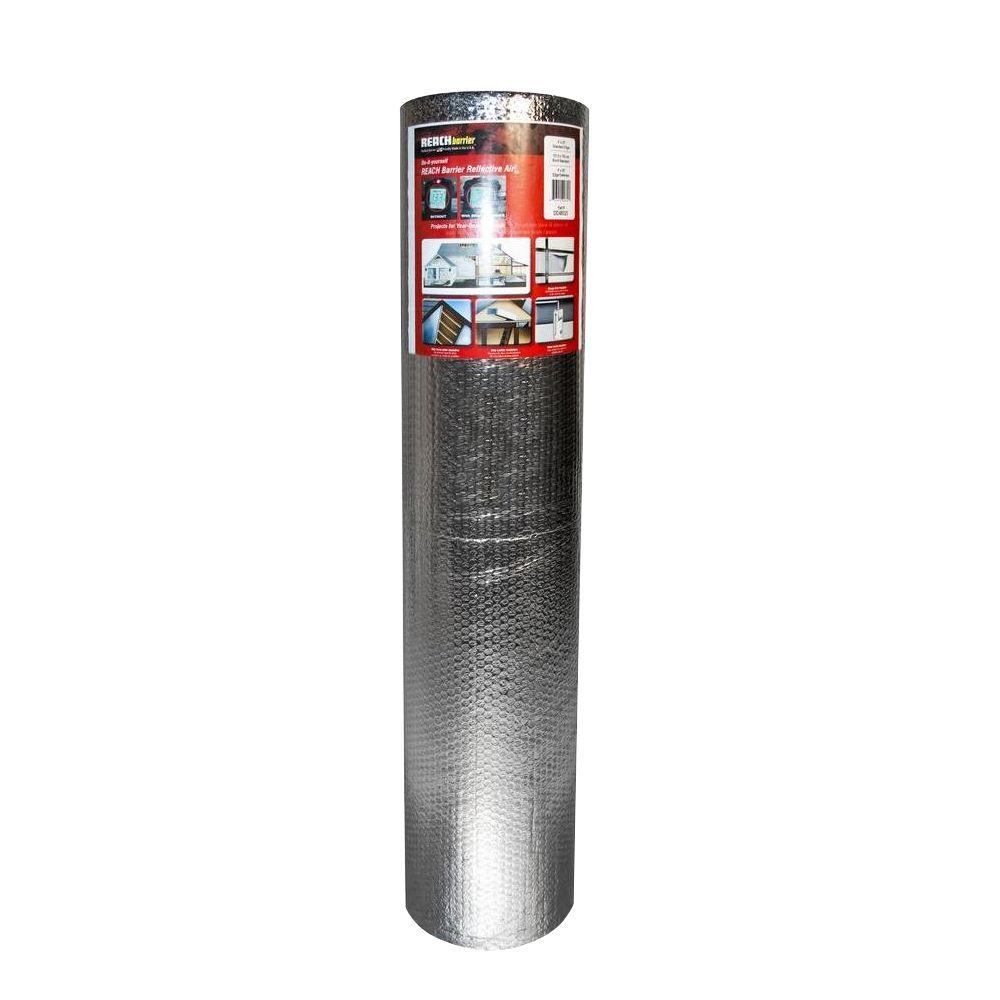 4 ft. x 25 ft. Air Double Reflective Polyethylene Insulation Roll