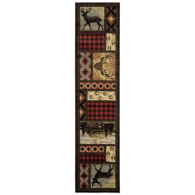Valor Multi 2 ft. x 8 ft. Runner Rug