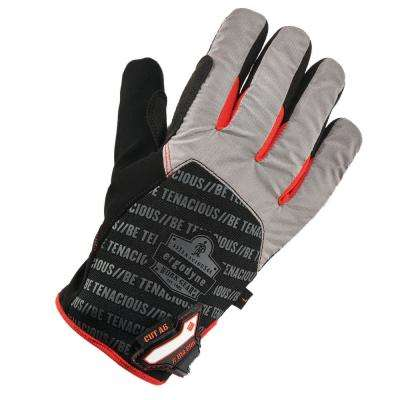 ProFlex Large Black Thermal Utility and Cut Resistance Gloves