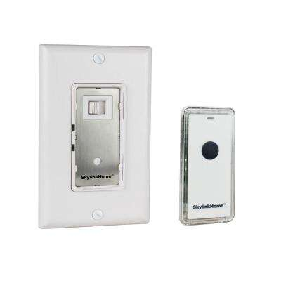 600-Watt Specialty Dimmer Wall Switch with Transmitter - White