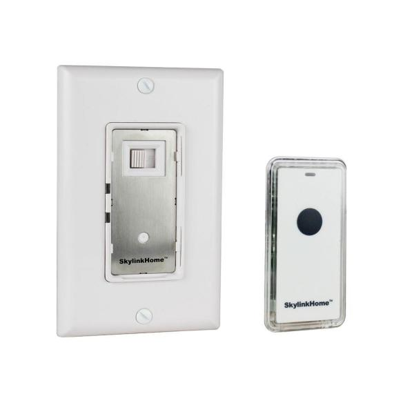 WR-318 Dimmable Wall Switch with Remote – White
