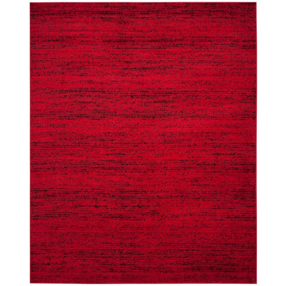 Safavieh Adirondack Red/Black 8 Ft. X 10 Ft. Area Rug