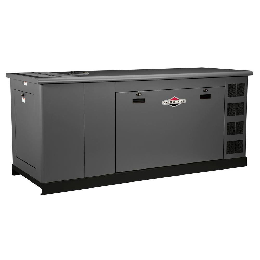 Briggs & Stratton 48,000-Watt Automatic Liquid Cooled Standby Generator - Single Phase