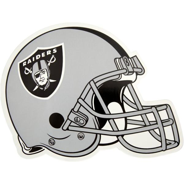 separation shoes 83b09 483a7 NFL Oakland Raiders Outdoor Helmet Graphic- Large
