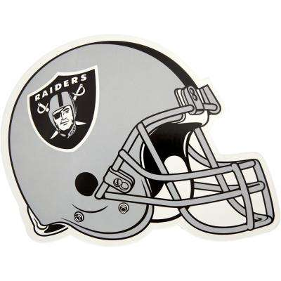 NFL Oakland Raiders Outdoor Helmet Graphic- Large