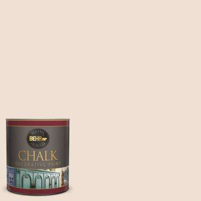 1-qt. #BCP01 Powder Pink Interior Chalk Finish Paint