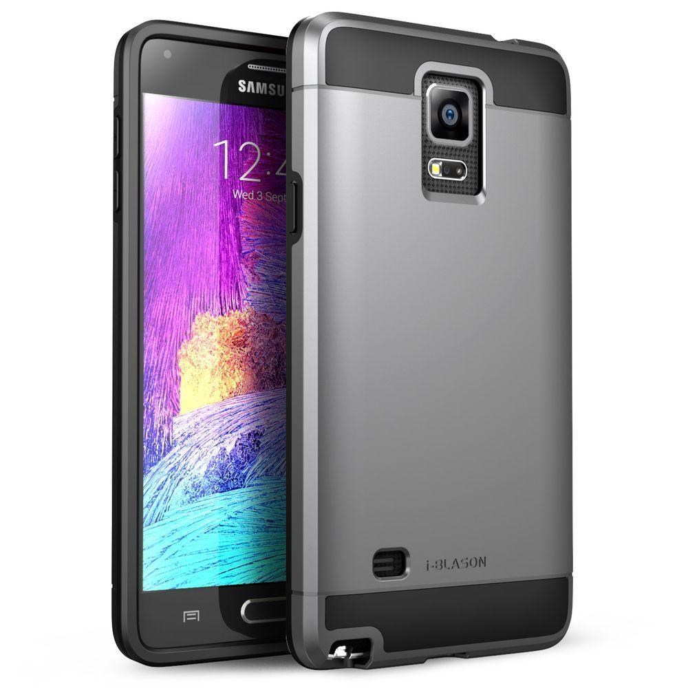 i-Blason Unity Dual Layer Case for Samsung Galaxy Note 4, Gun Metal