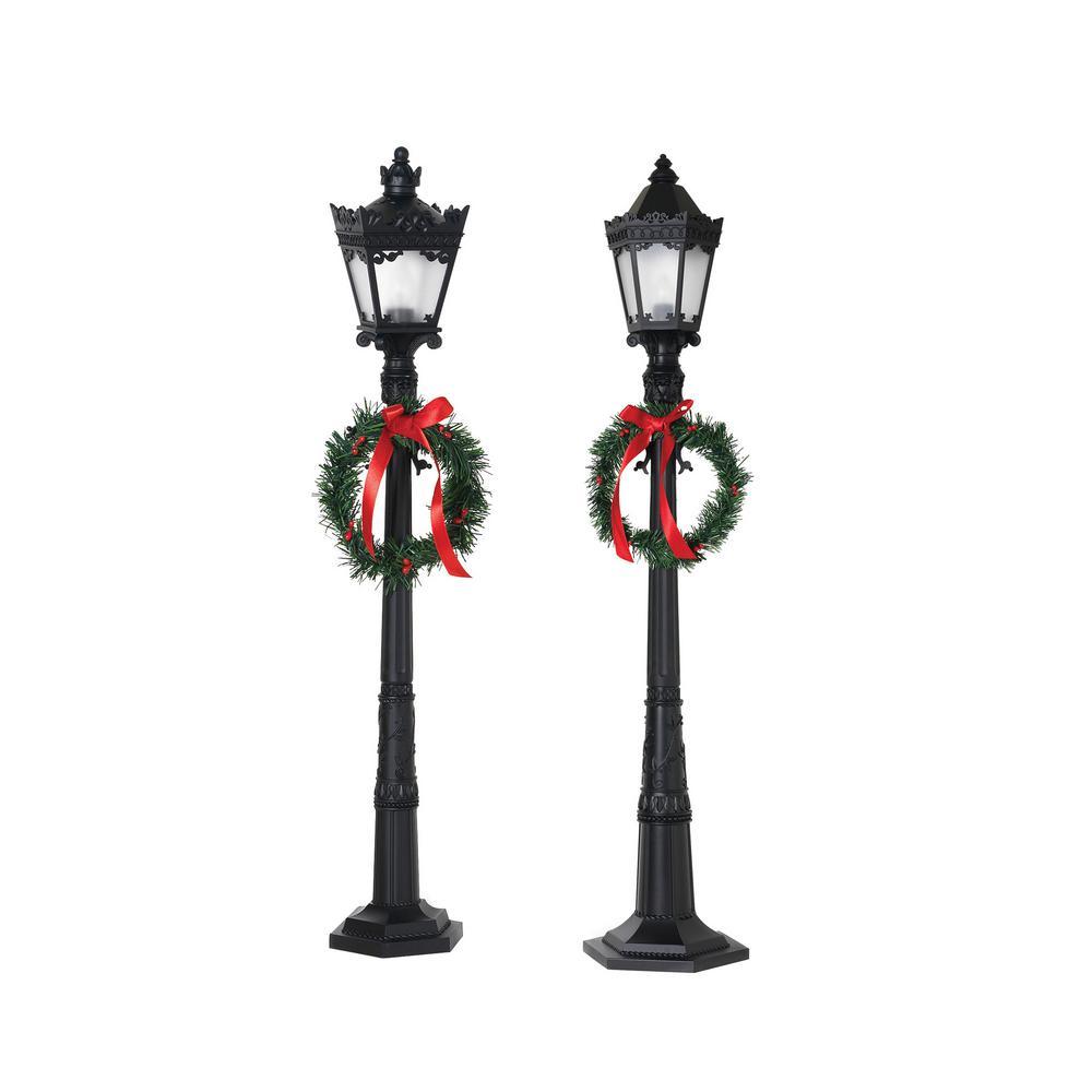 26 in. H Indoor Lamp Post (Set of 2)