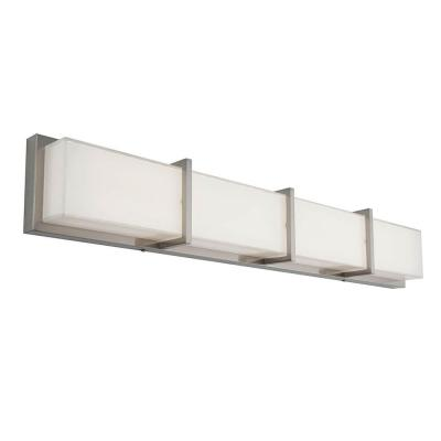 Subway 35 in. Stainless Steel LED Vanity Light Bar