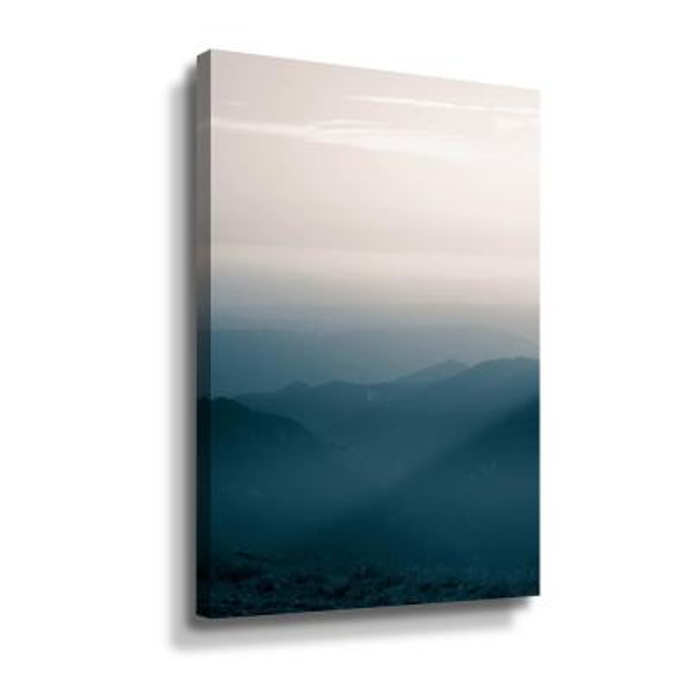 Blue Mountains V' by PhotoINC Studio Canvas Wall Art