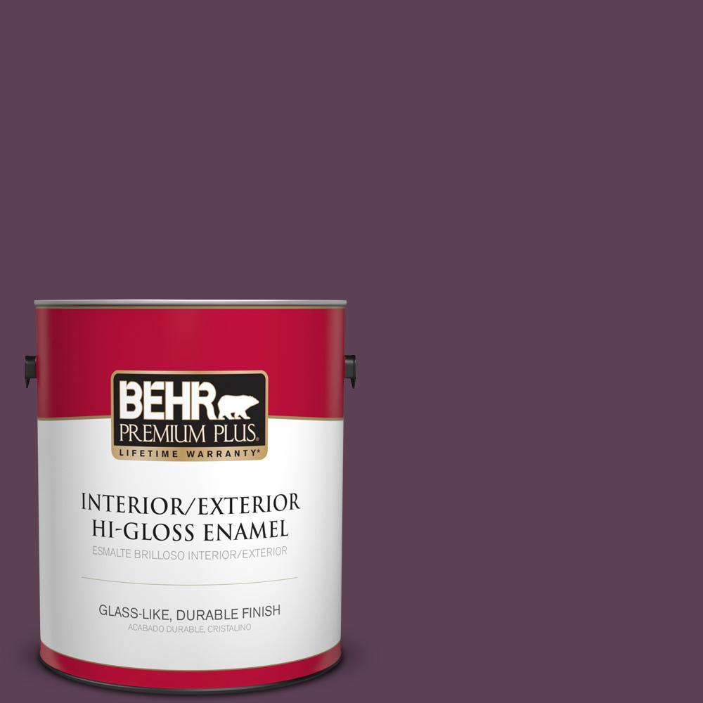 1 gal. #PPU17-03 Vixen Hi-Gloss Enamel Interior/Exterior Paint
