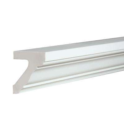 3-1/4 in. x 4 in. x 96 in. Polyurethane Cornice Detail Moulding