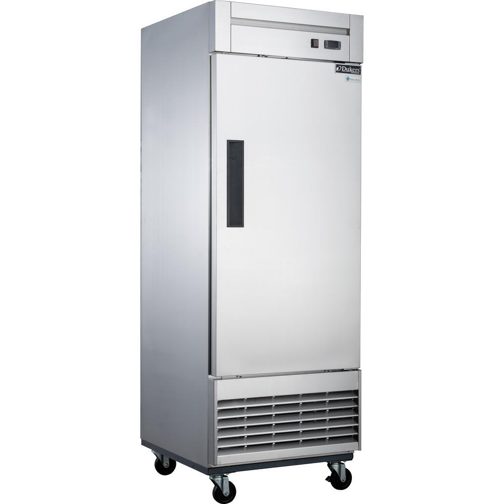 17.7 cu. Ft. Single Door Commercial Upright Freezer in Stainless Steel