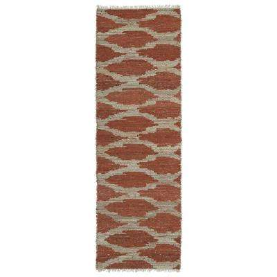 Kenwood Paprika 2 ft. x 6 ft. Double Sided Runner Rug