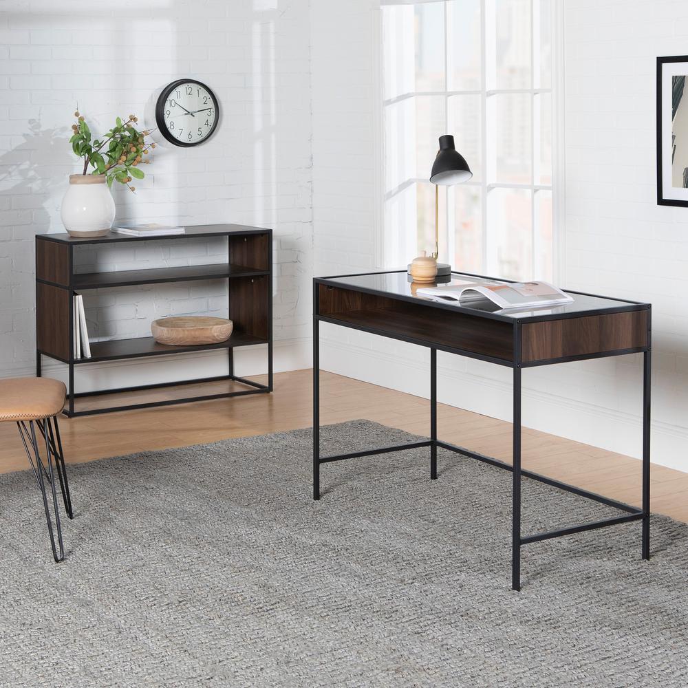 Awesome Walker Edison Furniture Company 42 In Metal And Wood Desk Spiritservingveterans Wood Chair Design Ideas Spiritservingveteransorg