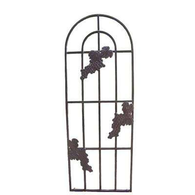Mississippi 79 in. Tubular Steel Grape Trellis