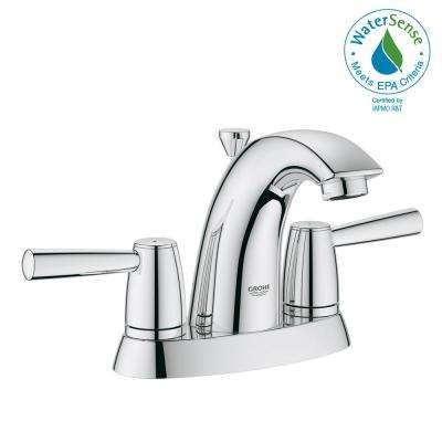 Arden 4 in. Centerset 2-Handle 1.2 GPM Bathroom Faucet in StarLight Chrome