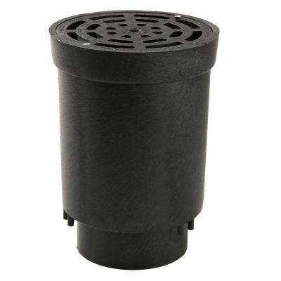 NDS Flo Well 6 in. x 4 in. Surface Drain Inlet