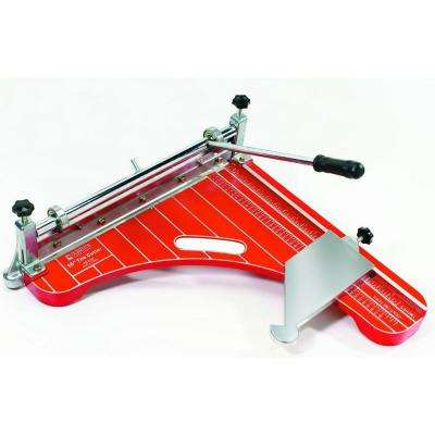 18 in. Pro Grade, VCT Vinyl Tile and Luxury Vinyl Tile Cutter