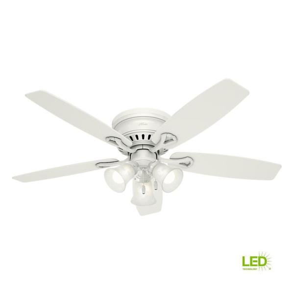 Low Profile Indoor White Ceiling Fan
